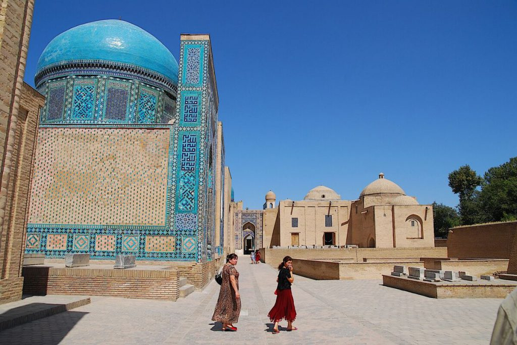 Usbekistan - Shohi Zinda in Samarkand