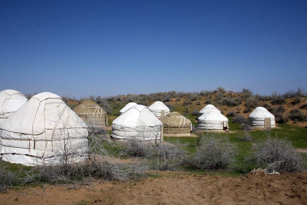 Usbekistan - Jurten Camp