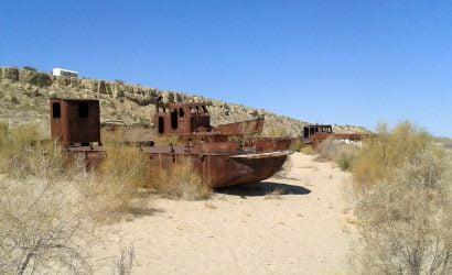 Usbekistan Reise - zum austrocknenden Aralsee