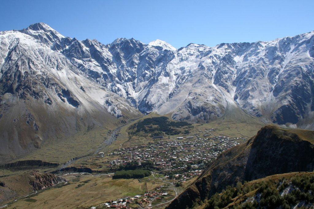 Kazbegi-View